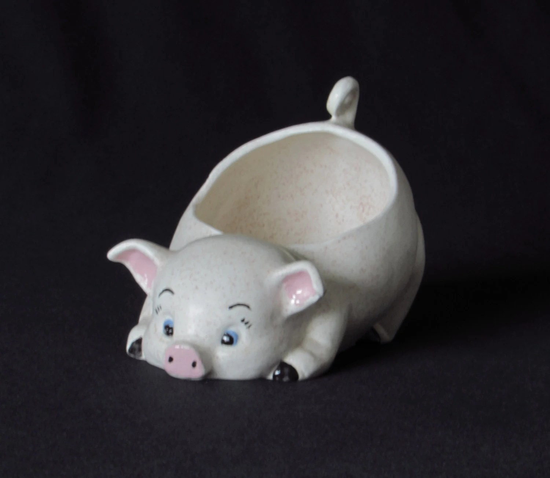 Pig Planter Etsy