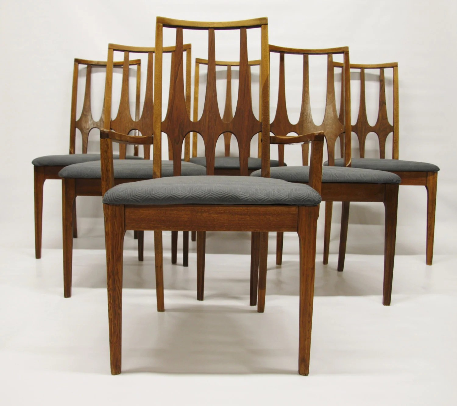 Mid Century Dining Chairs Mid Century Modern Broyhill Brasilia Dining Chairs Set Of 6