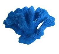 Large Decorative Blue Coral Polyresin Figurine by HeavenlySea