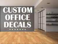 Custom Home Office Vinyl Wall Decals