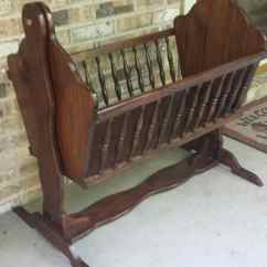 Jenny Lind Rocking Chair X Desk Vintage Wood Cradle Style Baby