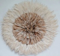 Authentic juju hat Wall decor feather headdress by