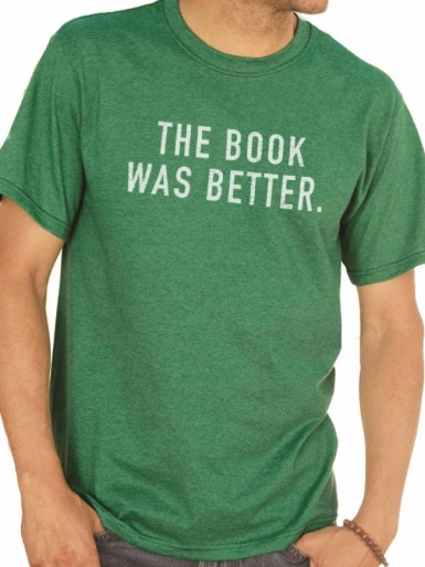 Christmas gifts The Book Was Better MENS T shirt Husband Gift Dad Gift Wife Gift Husband Shirt Geek Reading Gift Funny TShirt
