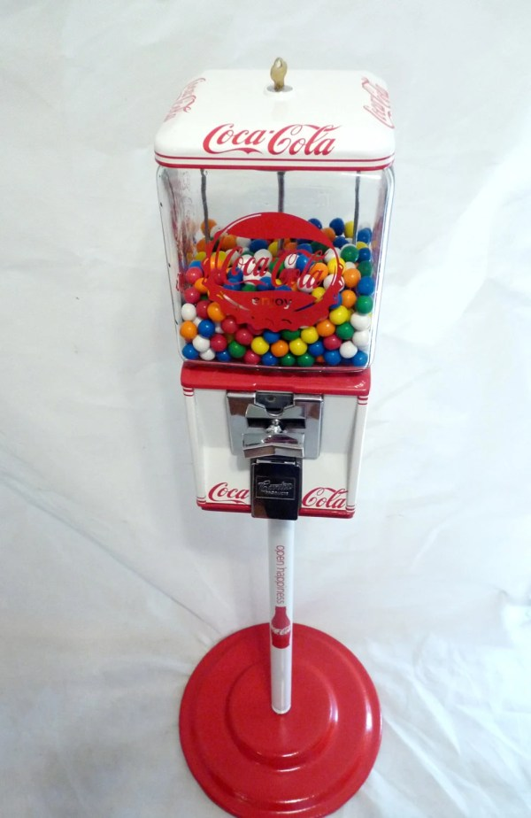 Candy Nut Gumball Machine Vintage Northwestern With Stand