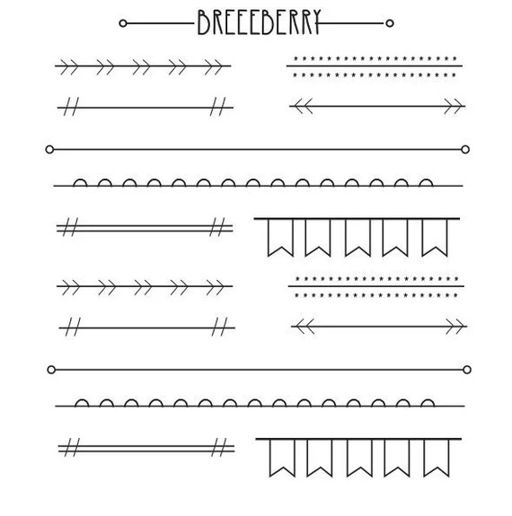 Banner stickers for planners, journals and diaries