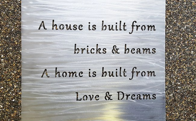 Custom 18 Metal Sign Your Own Quote Or Words