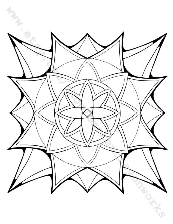 Starburst Candy Pages Coloring Pages