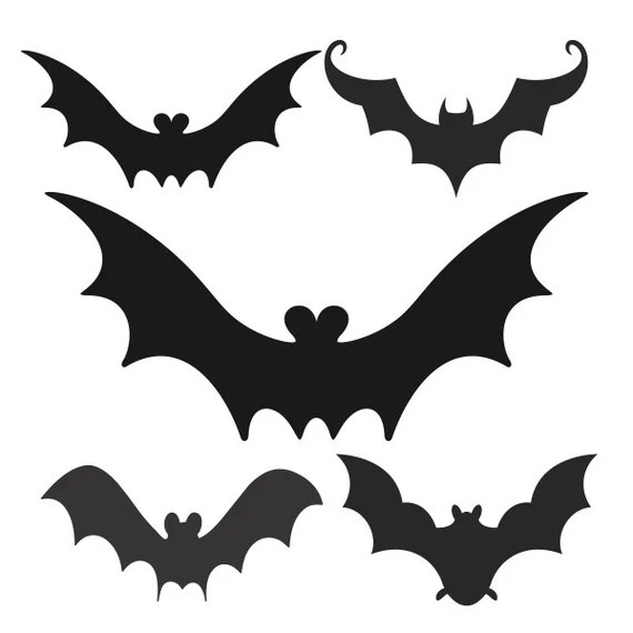 Download Bat Pack Halloween Design Cuttable SVG DXF EPS use with