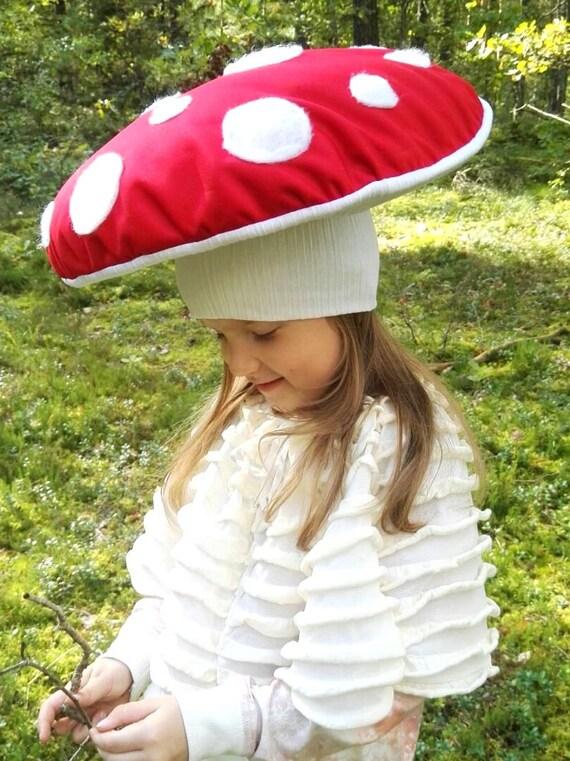 Mushroom fly agaric costume hat / Kids Costume / Adult Costume / mushroom fly agaric dress up / handmade costume / Halloween costume & Children Halloween Costumes | Etsy Treasures - ThatMomLife