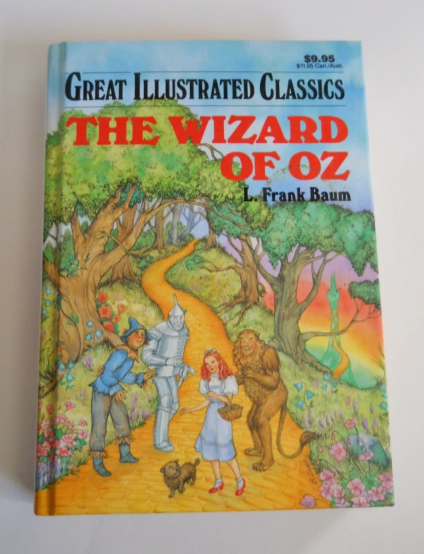 Wizard Of Oz Book Great Illustrated Classics Vintage