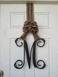 Wooden Letters Home Decor Monogram Door Hanger Monogram
