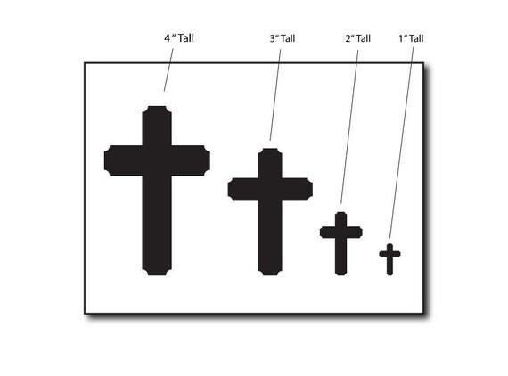 Basic Cross Icon Small Stencil Set STCL1169_1 by StudioR12