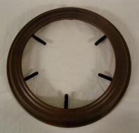 Decorative Wooden Plate Frames Plain The Woodridge