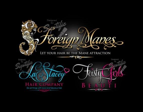 Hair Business Logo Logo Design Custom Logo Design Logo