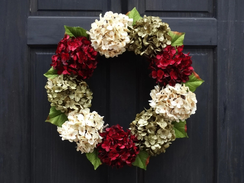 Modern Christmas Wreaths For Front Door
