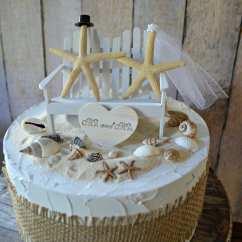 Adirondack Chair Cake Topper Beach Wedding Decoration Ideas Destination