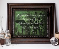 Military Art Decor Military Quote Wall Art by AEStudiosDesigns