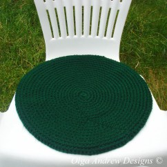 Crochet Christmas Chair Covers Kids Table Chairs 2 Seat Cushion Pattern