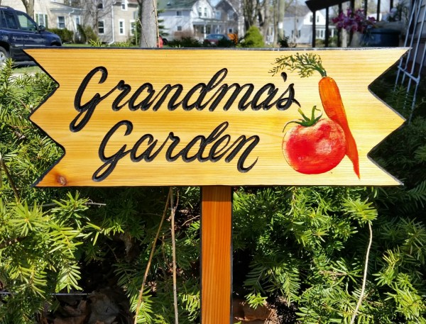 garden signs personalized