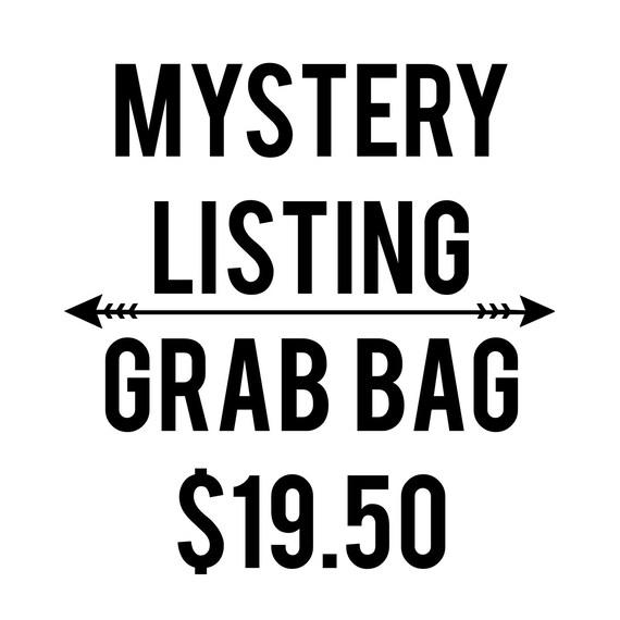 MYSTERY LISTING Graphic Tee Shirt grab bag