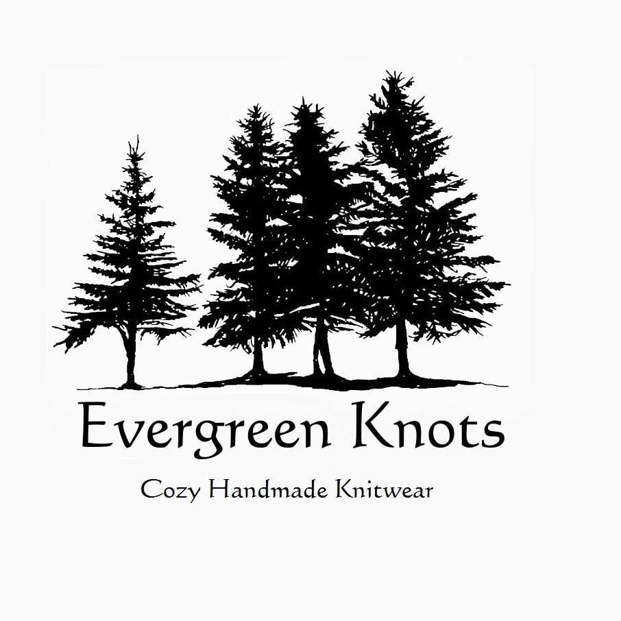 cozy handmade knitwear by EvergreenKnots on Etsy