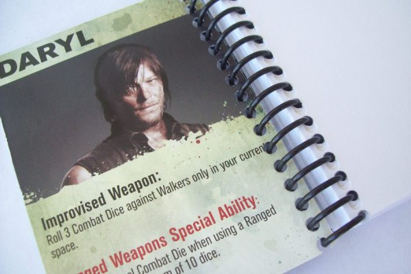 Mini Notebook 3 X 4 100 Pages Walking Dead Leeemporium