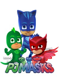 PJ Masks Wall Decals