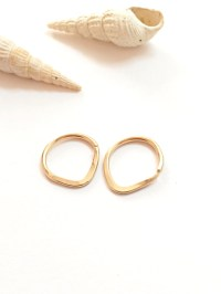 14g nipple rings gold nipple jewelry nipple piercing ring