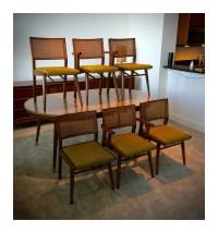 Mid Century Modern Holman Manufacturing Co. Dining Room Set