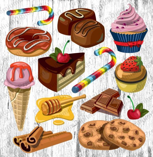 bakery sweets clipartcupkake