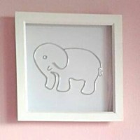 Elephant Wall Art Elephant Picture Framed by ...