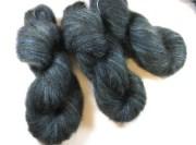 destash yarn over dyed hand maiden