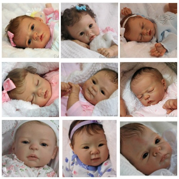 Custom Reborn Baby Doll Order Choose