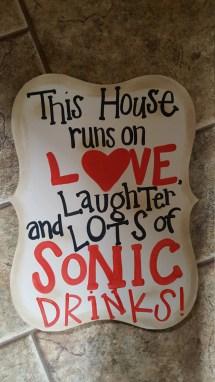 Sonic Addict Sign
