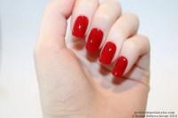 Red short square nails, Nail designs, Nail art, Nails ...