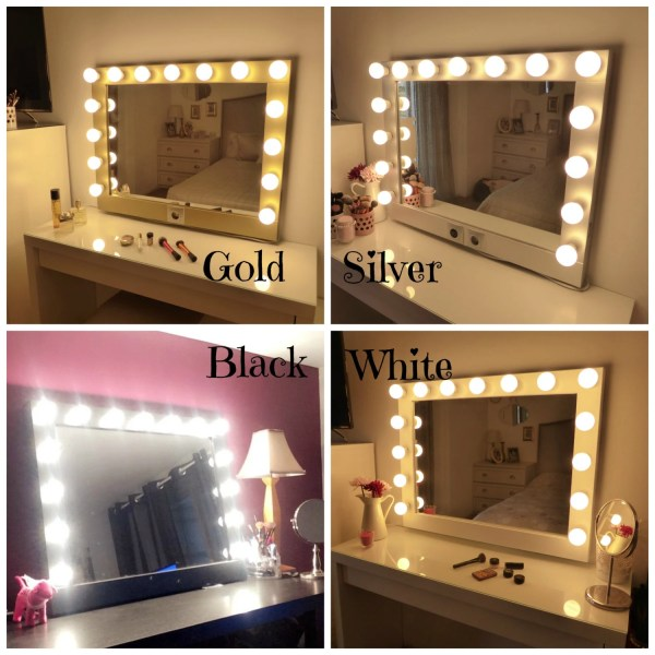 Hollywood Lighted Vanity Mirror-large Makeup Mirror