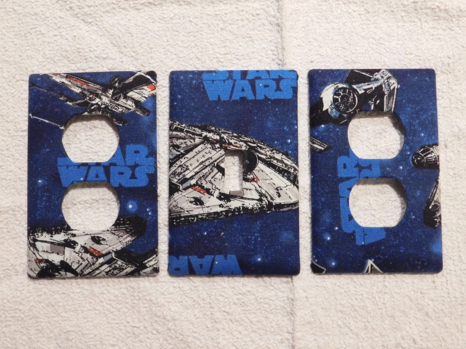 Star Wars Light Switch Plate Outlet Plug Cover Custom Wall