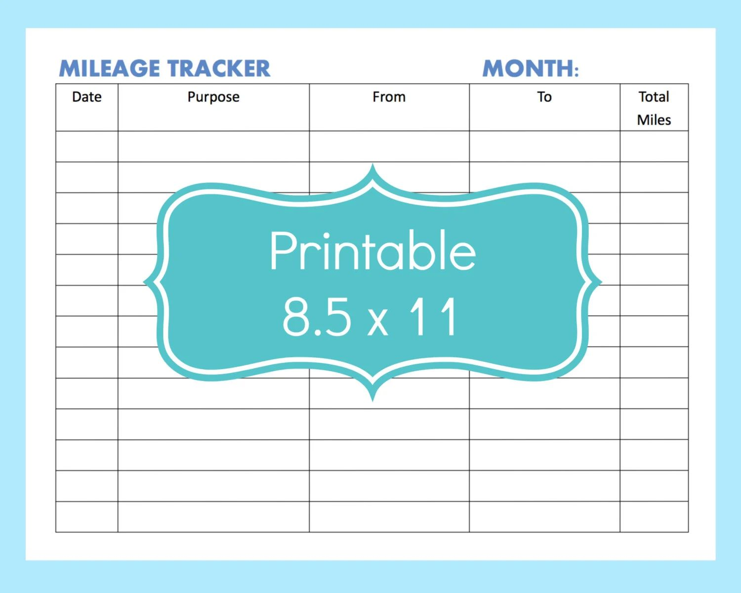 fuel mileage tracker