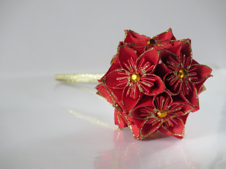 christmas origami flower diagram lutron sc 3 tree decoration spike ball www