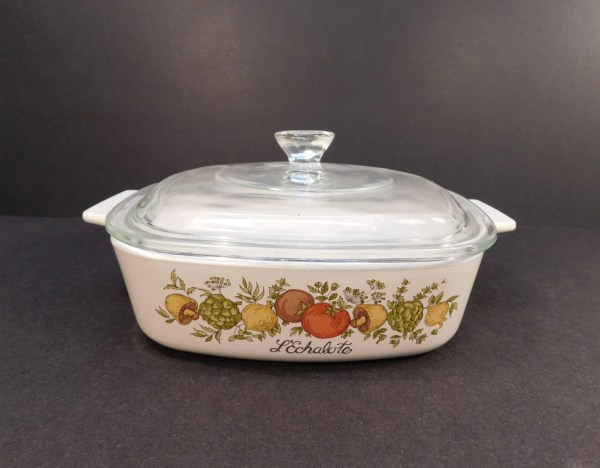 Vintage Corning Ware Spice Of Life L'echalote