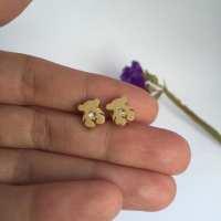 Baby earrings Bear Earrings Tous Inspired Bear earrings