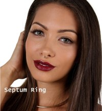 Sale Septum Ring Gold Septum Nose Ring Gold Septum Ring