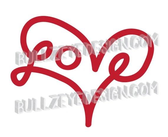 Download Love heart svg, Vector EPS Heart, love eps, heart die cut ...