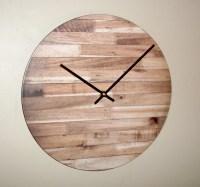 12 Inch Rustic Wall Clock SILENT Unique Rustic by MakingTimeTC