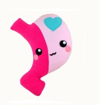 Gastric Sleeve plushie / kawaii stuffed toy organ stomach