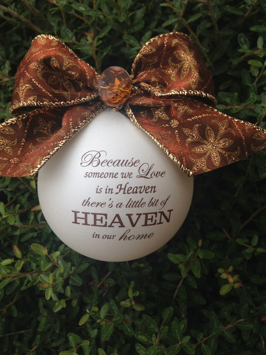 Download Because someone we love is in heaven... Ornament by ...