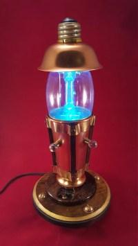 Steampunk Lamp by Steampunkarsenal on Etsy