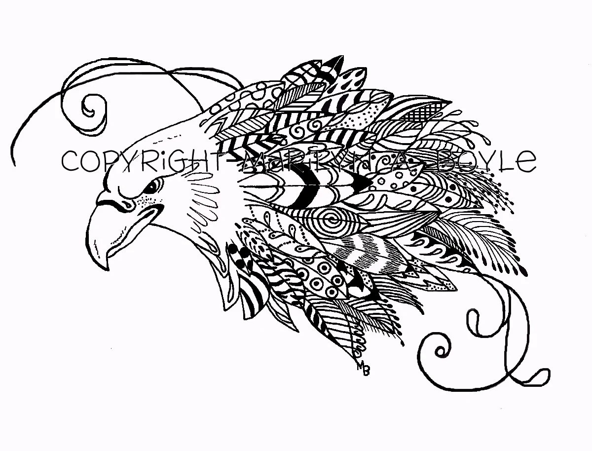 Feather Inkwell Pen Coloring Pages