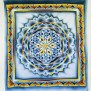 Flower Of Life Batik Wall Decor Mandala Tapestry By