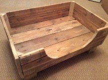 Rustic Dog Bed Reclaimed Pallet Wood